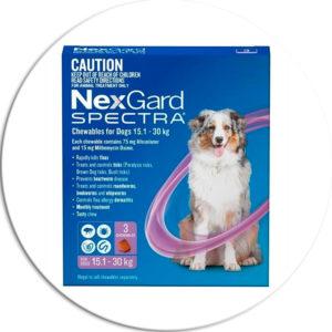 Nexgard spectra comprimidos